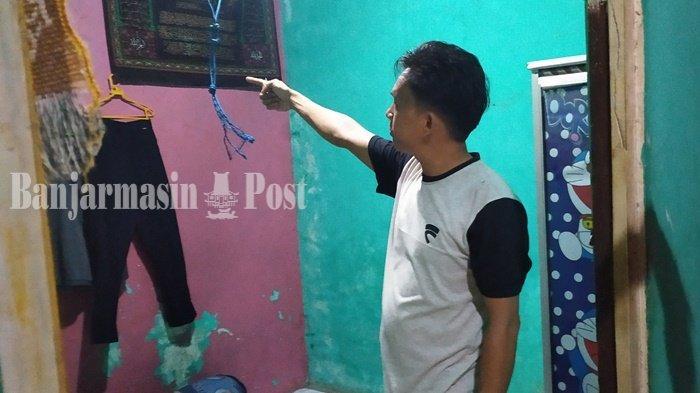 Pulang dari Pasar Tungging di Belitung Banjarmasin, Istri Temukan Suami Gantung Diri