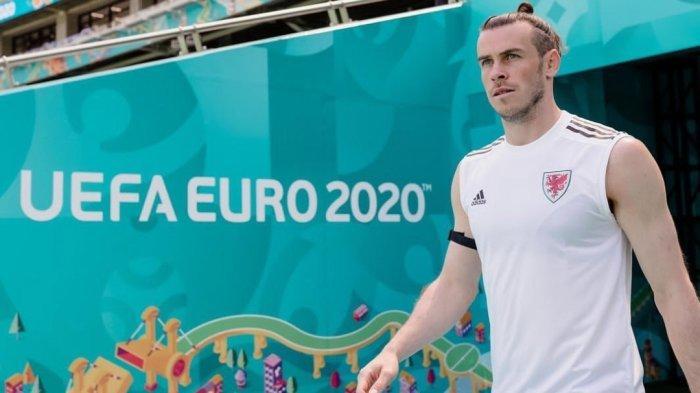 Gareth Bale berlatih bersama Timnas Wales menjelang laga melawan Swiss di Euro 2020