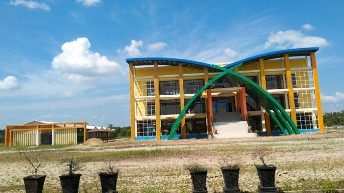 KalselPedia : Mengenal Gedung Perpustakaan Baru di Kawasan Rantau Baru Tapin