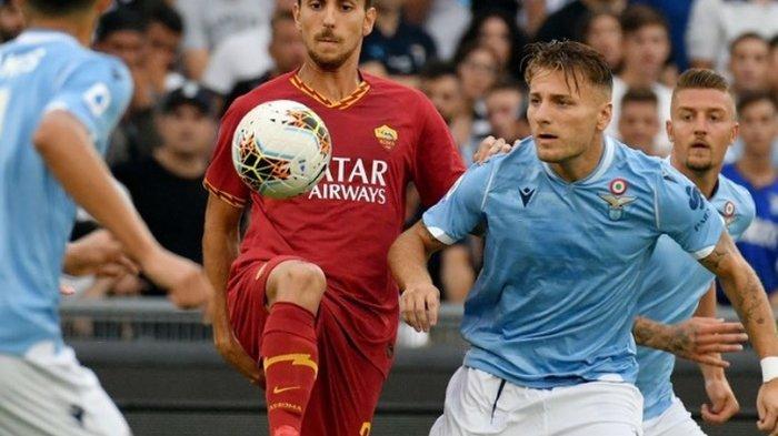 Hasil Liga Italia 2019-2020 - Dipaksa AS Roma Main Imbang, Peluang Emas Lazio 4 Kali Kena Tiang