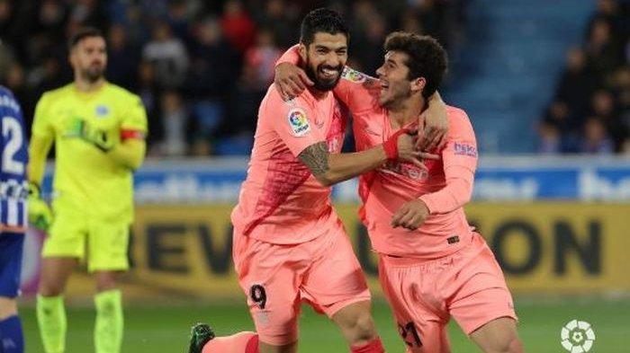 Klasemen Liga Spanyol Pekan 34 - Atletico Madrid Kalah, Barcelona Pesta Juara Musim 2018-2019