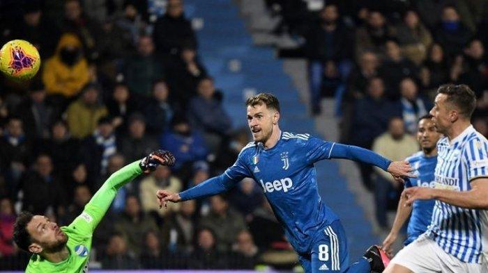 Juventus vs Crotone Liga Italia Live RCTI : Aaron Ramsey Dipersiapkan Jelang Lawan Juru Kunci