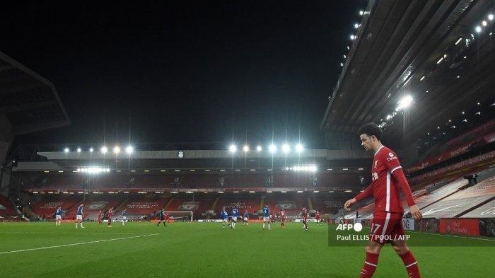 Daftar 'Kesebelasan' Cedera Liverpool, Henderson Susul Van Dijk ke Ruang Rawat saat Lawan Everton
