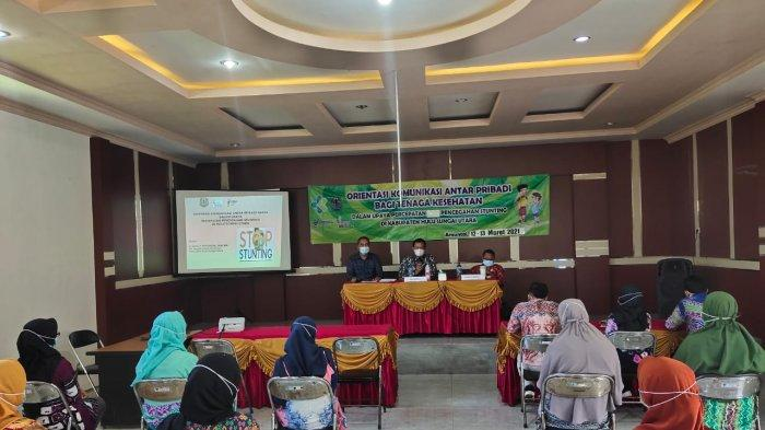 Dinkes HSU Gelar Orientasi KAP Tenaga Kesehatan Puskesmas, Pacu Pencegahan Stunting di Kabupaten HSU