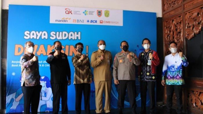 Gerakan Peduli Insan Perbankan, Lima Bank Nasional Laksanakan Vaksinasi Massal untuk Indonesia
