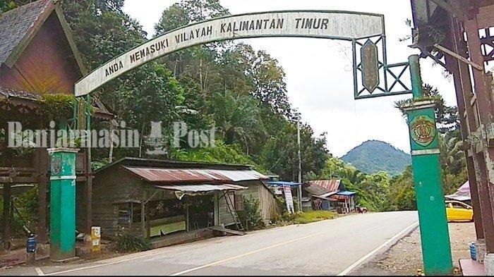 Wisata Kalsel, Gerbang Perbatasan Kalsel-Kaltim di Gunung Halat Tabalong