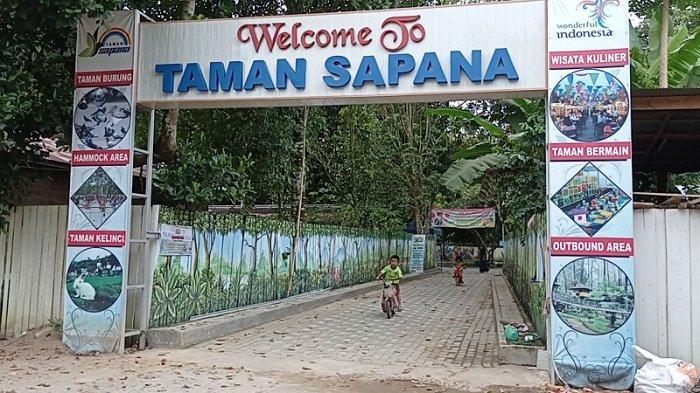 Wisata Kalsel : Taman Sapana di Kecamatan Banua Lawas Tabalong, 31 KM dari Tugu Obor Mabuun