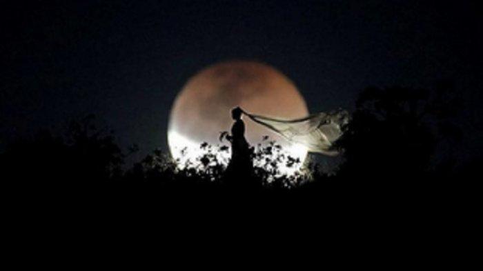 Indahnya Foto-foto Gerhana Bulan Total Super Blood Moon dari Beberapa Negara di Dunia