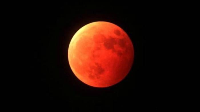 Tips Trik & Cara Memotret Gerhana Bulan Total Super Blood Moon 28 Juli 2018 Pakai Kamera HP Android