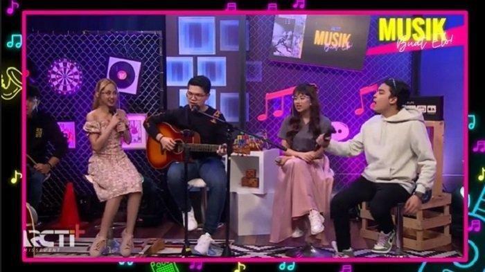 Kini Sisca JKT48 dan Ghea Indrawari Juga James Adam Bawakan Musik Keroncong, Ini Alasannya