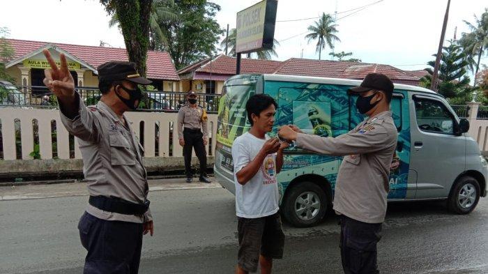Polisi Masih Temukan Pelanggar di Giat Lanjutan Operasi Yustisi 2021 Polsek Banjarmasin Selatan