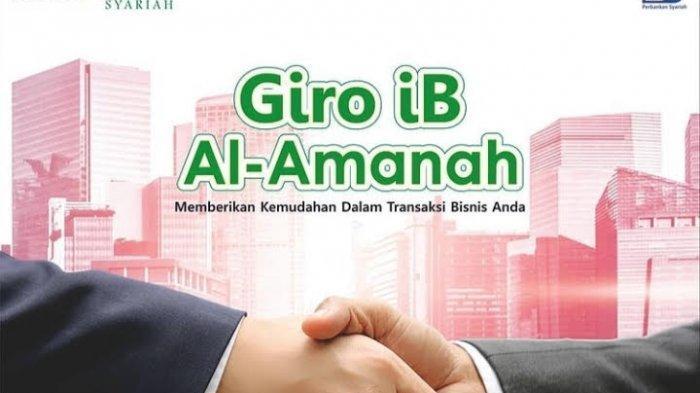 Transaksi Bisnis Bisa Gunakan Giro iB Al-Amanah Bank Kalsel