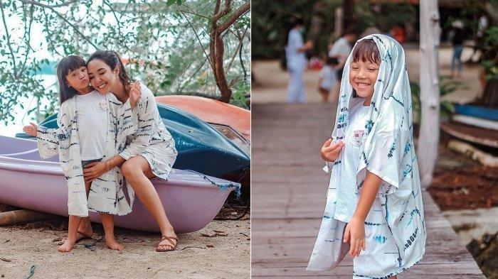 Kondisi Anak Gisella Anastasia Usai Mabuk Laut, Gempi Putri Gading Marten ke Pulau Macan
