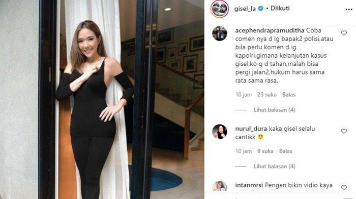 Postingan Gisel Berbusana Ketat di Instagram Curi Perhatian, Video Syur Nobu Kembali Disinggung