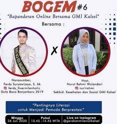GMI Kalsel Ajak Bapanderan Online, Singkap Rahasia Pemuda Berprestasi