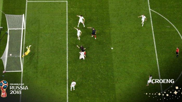 Kroasia VS Inggris : Gol Ivan Perisic Paksa Inggris Jalani Perpanjangan Waktu