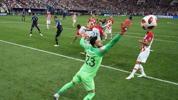 UPDATE GOL LIVE Prancis vs Kroasia Final Piala Dunia 2018 Skor 1-1, Gol Spektakuler Ivan Perisic!