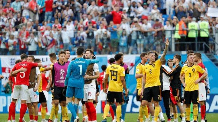 HASIL BABAK 2 Inggris vs Belgia Piala Dunia 2018, Gol Hazard & Meunier Bawa Belgia Juara 3!