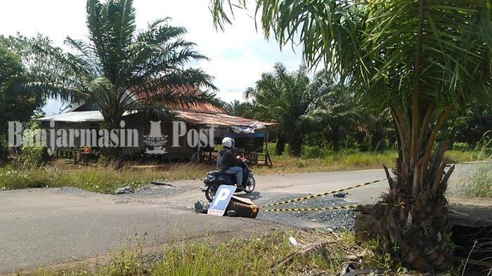 Kadis PUPR Kabupaten Tanbu Akui Jalan Dharma Praja Rusak karena Dilalui Truk