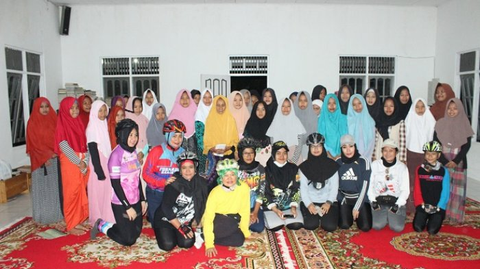 Goweser Banjarbaru dan Martapura Gelar Night Ride Sekalian Kunjungi Anak Panti