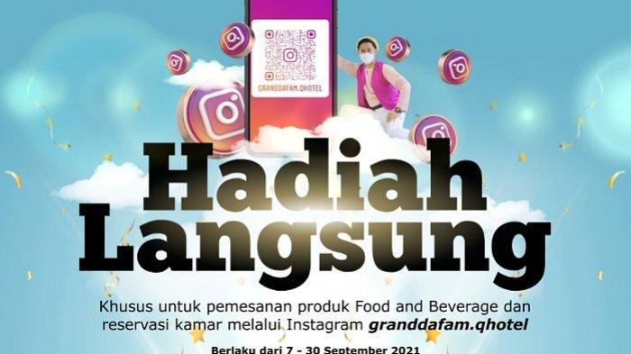 Atasi Dampak PPKM Level 4,  Dafam Q Hotel Banjarbaru Berikan Hadiah Langsung