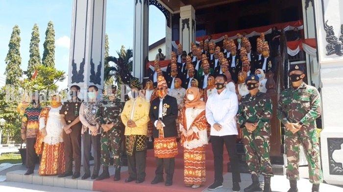 KalselPedia: Pembacaan Sejarah Provinsi di Rapat Paripurna Istimewa DPRD Kalsel