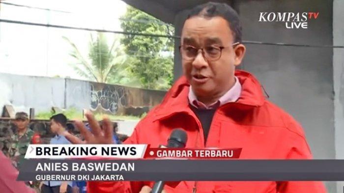 Anies: Tidak Usah Menyalahkan Hujan, Menyalahkan Orang, Fokus Selamatkan Warga Jakarta