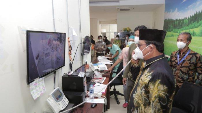 Paman Birin-Muhidin Berbagi Tugas Tinjau Rumah Sakit Rujukan Covid 19 di Kalsel