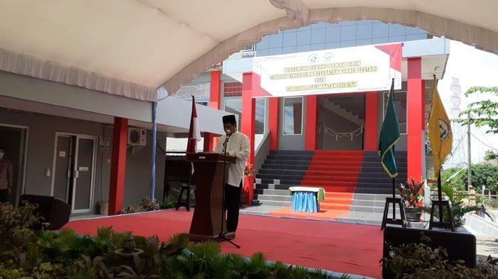 Paman Birin Resmikan Gedung di Kampus Stikes Borneo Lestari
