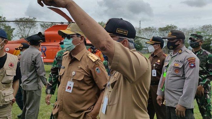 Gubernur Kalsel H Sahbirin Noor saat berkunjung ke HST.