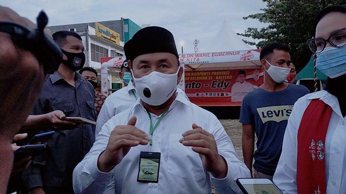 Gubernur Sugianto Tunjuk Akhmad Husain Jabat Pelaksana Harian Bupati Kotawaringin Timur