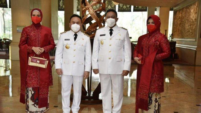 Presiden Lantik Pasangan Gubernur Sugianto-Edy, Program Kerja Focus Tangani Penyebaran Covid-19