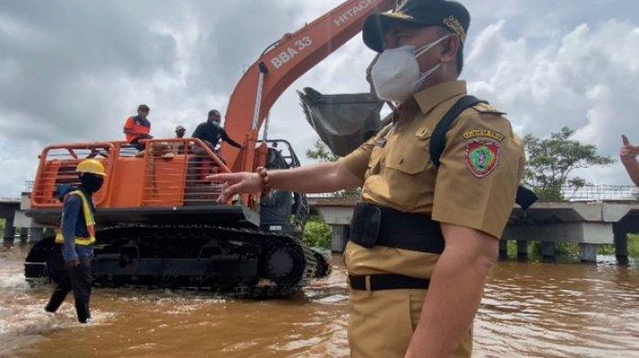 Banjir Kalteng, PUPR Siapkan Alat Berat dan Bangun Posko di Titik Jalan Terendam