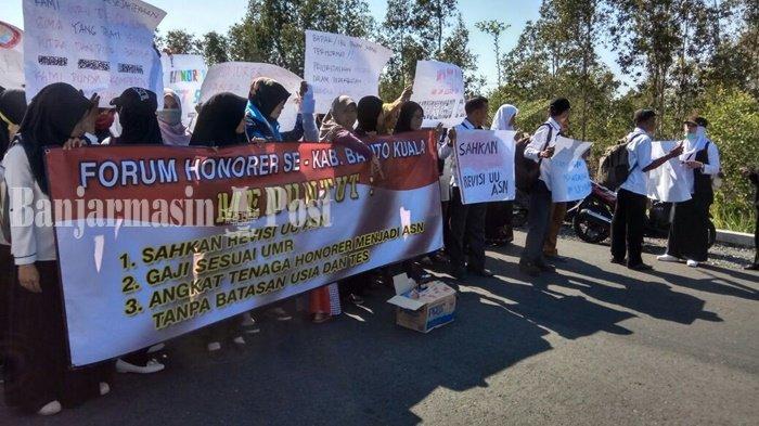 Guru Honor di Kota Banjarmasin Kalimantan Selatan Minta Kebijakan Khusus Soal PPPK