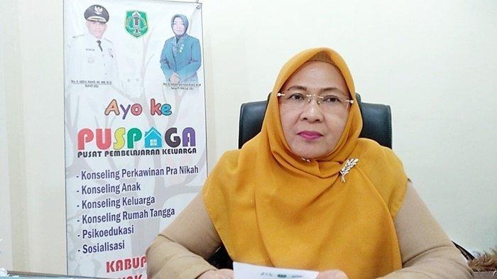 Gusti Iskandariah, Kepala Dinas Pemberdayaan Perempuan dan Perlindungan Anak (DPPPA) Kabupaten Hulu Sungai Utara (HSU), Kalimantan Selatan.