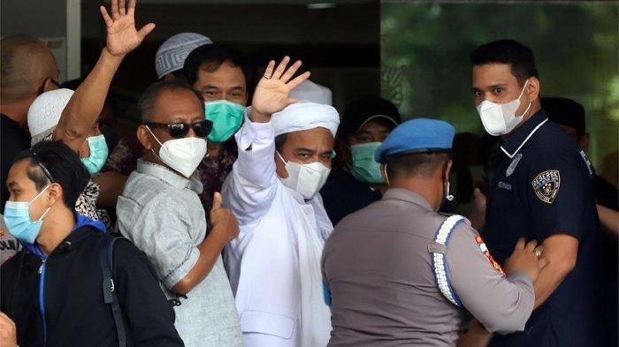 Rizieq Shihab Ikut Bereaksi Menanggapi Hasil Rekonstruksi, Titip Pesan Pada Munarman