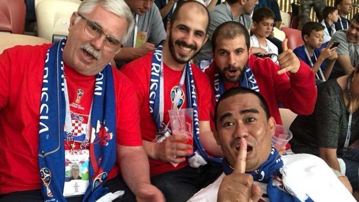 Ternyata H Tajeri ke Rusia, Nonton Langsung Semifinal Kroasia vs Inggris Piala Dunia 2018