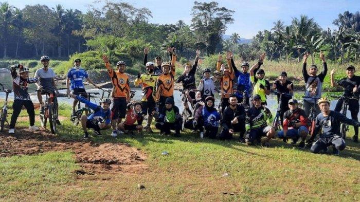 Komunitas Gowes Halu'y Bike Seli Terinspirasi Sepeda Kecil, Punya Slogan Satu Sepeda Seribu Teman