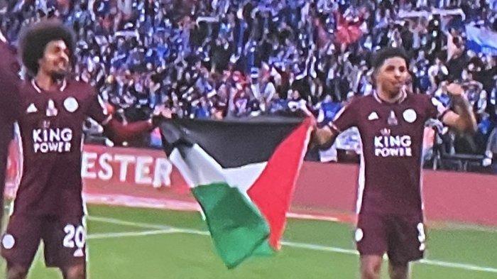 Bendera Palestina Berkibar di Pesta Leicester, Juara Piala FA Usai Kalahkan Chelsea