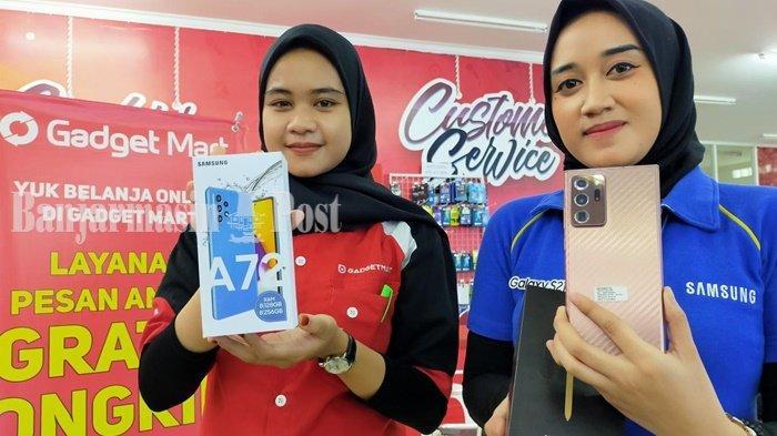 Pilah-pilih HP Terbaru Rp 3 Jutaan Sampai Rp 7 Jutaan di Berbagai Gerai di Banjarbaru
