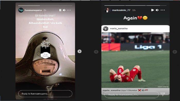 Respon Hansamu Yama & Bintang Persija Marko Simic atas Penundaan Jadwal Liga 1 2021, Nada Kecewa