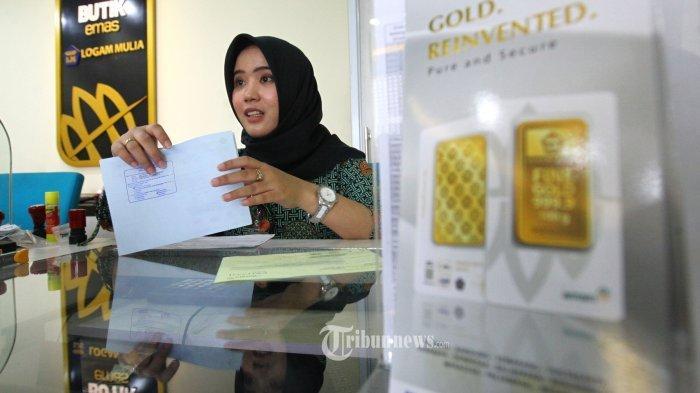 LOYO Dua Hari Terturut-turut, Emas Antam Dijual Seharga Rp 953.000 Per Gram, Buyback Rp 829.000