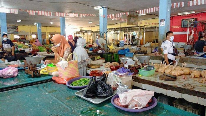 Jelang Idulfitri 1442 Hijriah, Harga Sembako di Pasar Tradisional Sampit Stabil