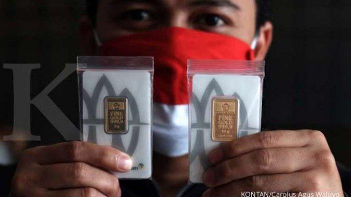 Harga Emas Menguat, Warga Banjarmasin Ini Jual emas Untuk Modal Usaha Takjil