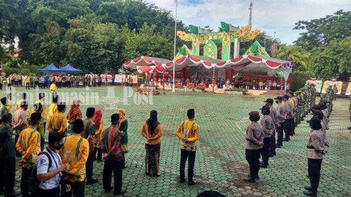 Peringatan Hari Jadi Kabupaten Tabalong, Panitia Bagikan Makanan ke Panti Asuhan
