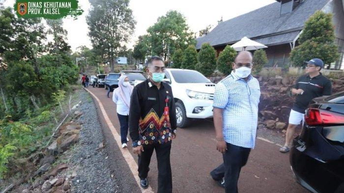 Penjabat Gubernur Kalsel Kunjungi Tahura Sultan Adam Mandiangin di Hari Pertama Dibuka