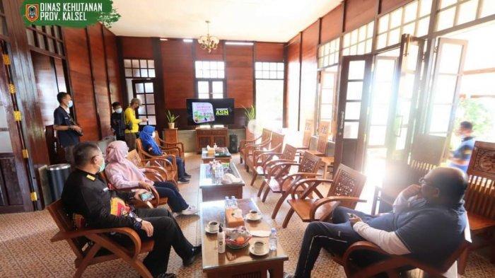 Hari pertama dibuka, Tahura SA Mandiangin dikunjungi Pj gubernur Kalsel Safrizal ZA