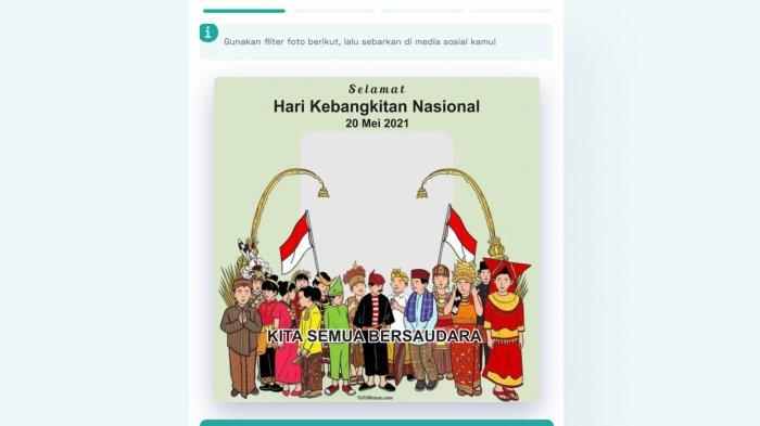 Harkitnas 2021, Cara Membuat Twibbon Ucapan Hari Kebangkitan Nasional 2021, Simak Sejarahnya