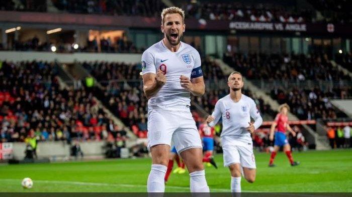 VIDEO Harry Kane Jadi Raja Gol Penalti di Timnas Inggris Setelah Kecoh Gawang Republik Ceska