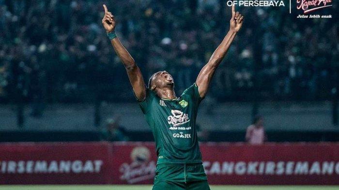 Hasil Persebaya vs Persib di Liga 1 2019, Skor Akhir 4-0, Amukan Amido Balde Berbuah Hattrick!